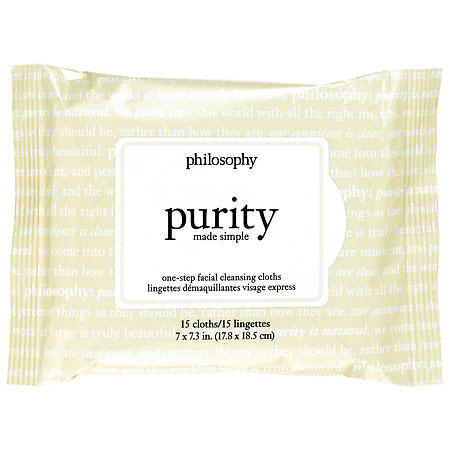 Philosophy Purity Made Simple One-Step Facial Cleansing Cloths