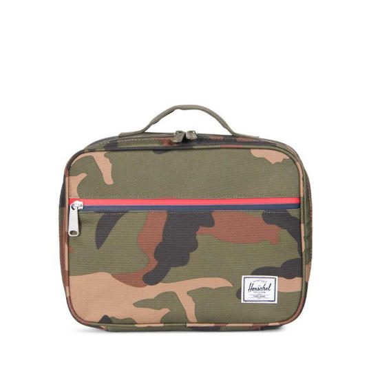 Herschel Supply Co. 'Pop Quiz' Lunch Box in Woodland Camo