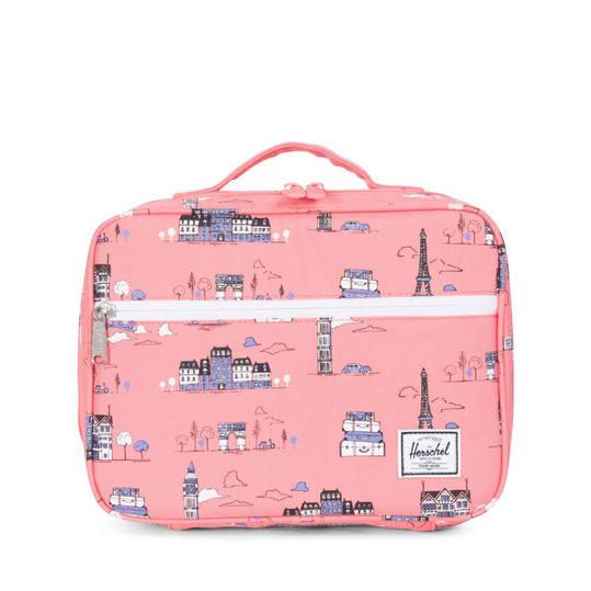 Herschel Supply Co. 'Pop Quiz' Lunch Box in Paris Pink