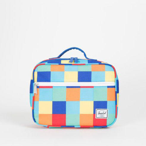 Herschel Supply Co. 'Pop Quiz' Lunch Box in Primary