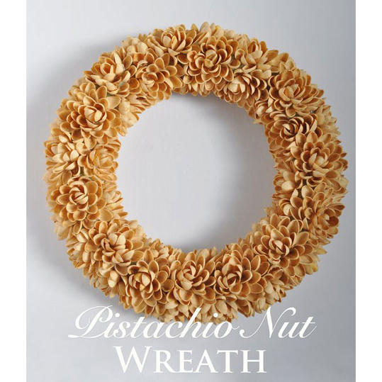 Pistachio Nut Wreath