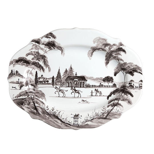 Juliska Country Estate Flint Platter