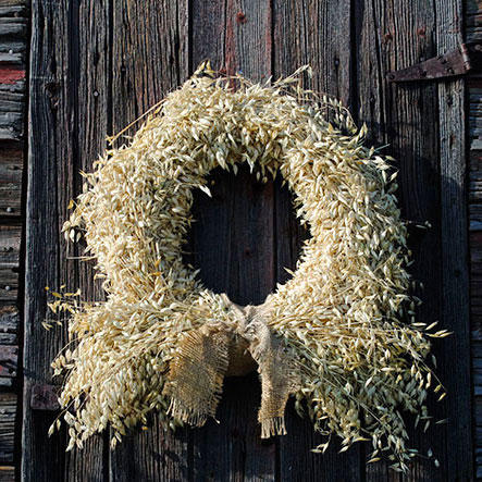Country Whole-Grain Wreath