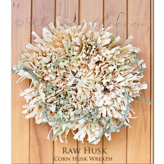 Raw Husk Wreath