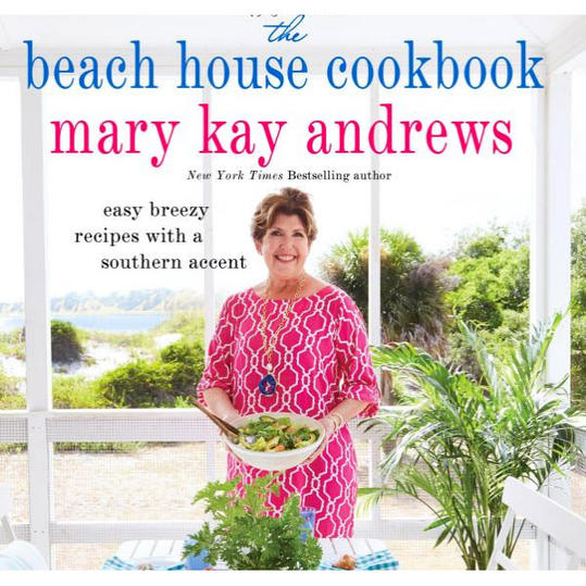 RX_1707_Best Cookbooks for Summer Hostess Gifts_Mary Kay Andrews Beach House Cookbook