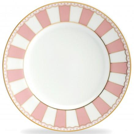 RX1707_ Our Favorite Pink and White China Noritake, 'Carnivale Pink'