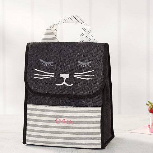 Pottery Barn Kids 'Emily & Meritt Kitty Critter' Lunch Bag