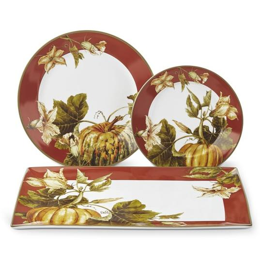 Pumpkin Rim  sc 1 st  Southern Living & The Most Beautiful China Patterns for Your Fall Table - Southern Living