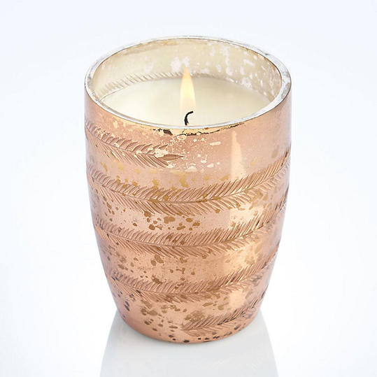 Paper Source Rose Gold Candle