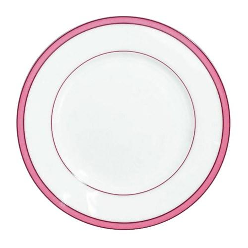 Our Favorite Pink and White China Raynaud, 'Tropic Rose'