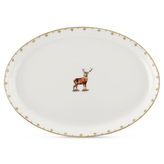 Spode 'Glen Lodge' Oval Platter