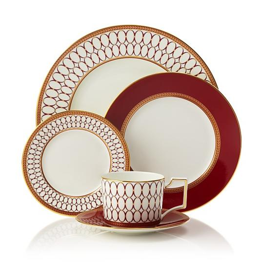 wedgwood renaissance red - Thanksgiving China Patterns