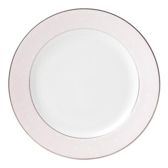 Our Favorite Pink and White China Kate Spade New York \u0027Sadie Street\u0027  sc 1 st  Southern Living : pink dinner plate - pezcame.com