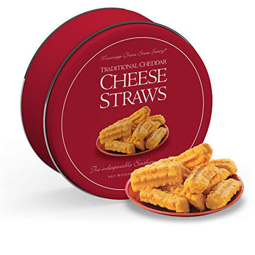 Mississippi Cheese Straw Factory Cheddar Cheese Straws