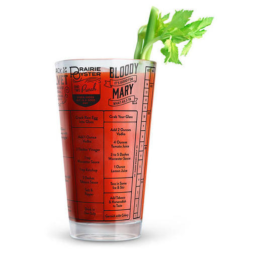 Good Measure Hangover Recipe Glass  sc 1 st  Southern Living & Great Christmas Gifts Under $10