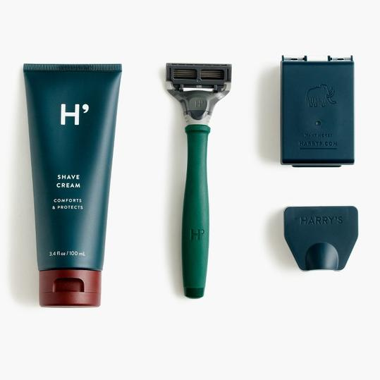 Harry's for J.Crew Rubberized Shave Set
