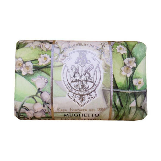Mughetto Lily of the Valley Olive Oil Organic Soap