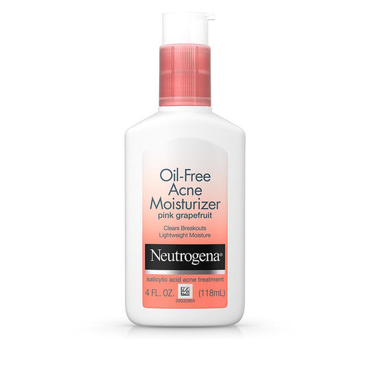 Neutrogena Oil-Free Facial Acne Moisturizer Pink Grapefruit