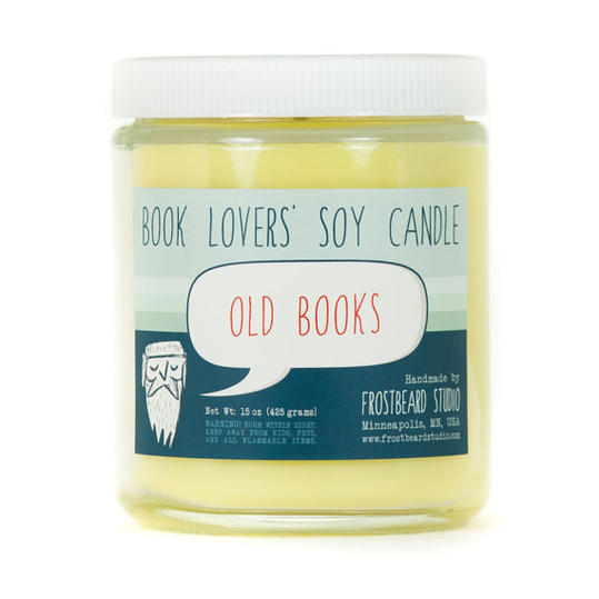 Book Lovers  Old Book  Candle