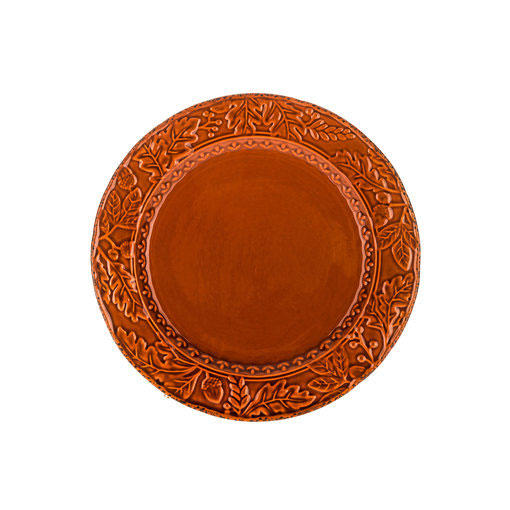 Autumn Leaf Display Plate