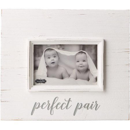 Perfect Pair Picture Frame Twin Sister Birthday Card