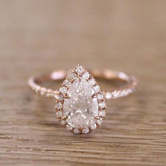 Breathtaking Rose Gold Engagement Rings Southern Living