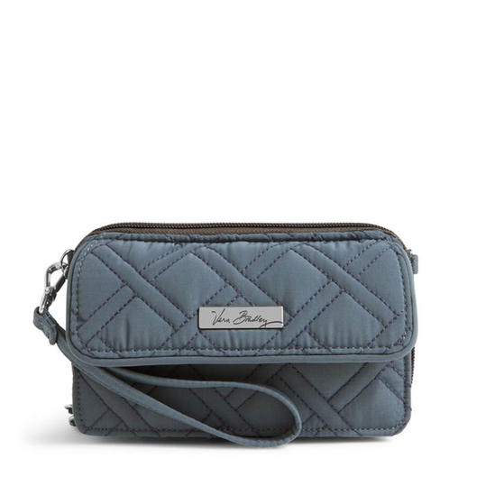 This quilted purse works overtime: You can wear it as a wristlet or over your shoulder.