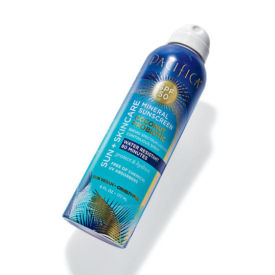 Pacifica Mineral Sunscreen Coconut Probiotic
