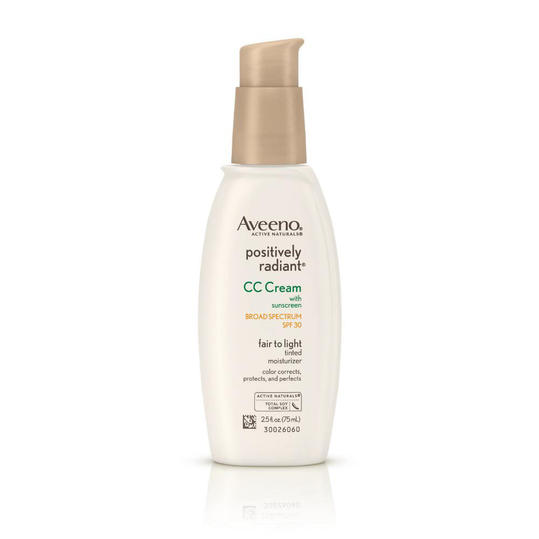 Aveeno Positively Radiant CC Cream Broad Spectrum SPF 30