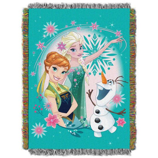 Items for the home every disney lover should own southern living frozen throw blanket gumiabroncs Images