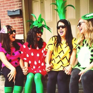 4 Person Halloween Costumes Girls.4 Person Halloween Costumes 4 Of 24 Pinterest Sc 1 St Southern Living