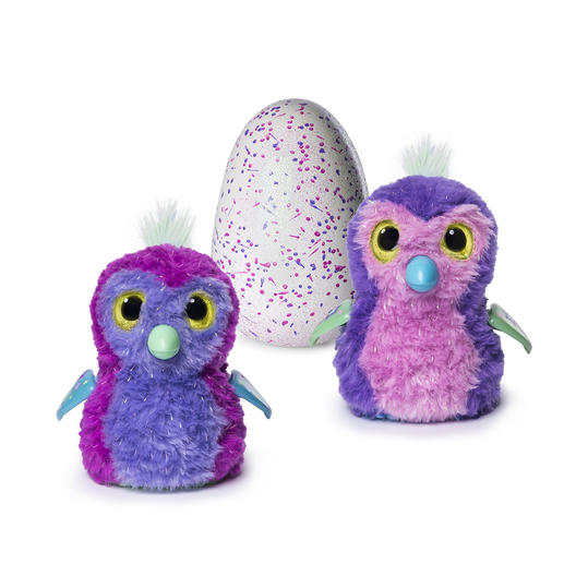 Hatchimals Glittering Garden Hatching Egg and Interactive Sparkly Penguala