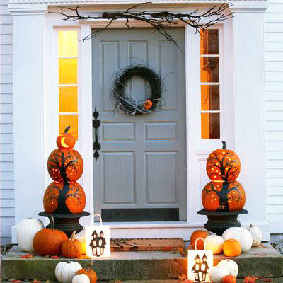 Perfect Pumpkin Ideas For Your Southern Porch Southern Living - 6 diy halloween pumpkin stands for your porch