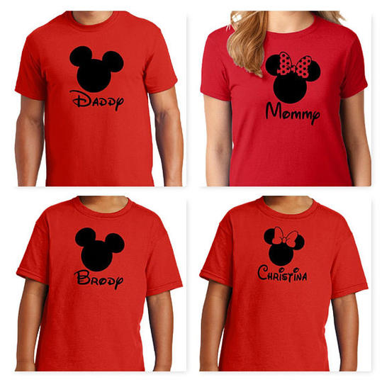 Personalized Family Shirts