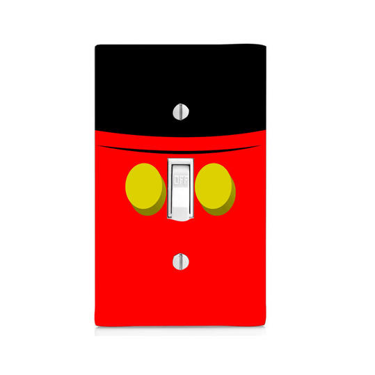 Mickey Mouse Light Switch Cover