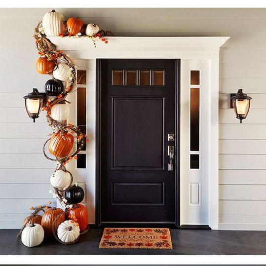 Hgtv Front Door Fall Decorations: Perfect Pumpkin Ideas For Your Southern Porch