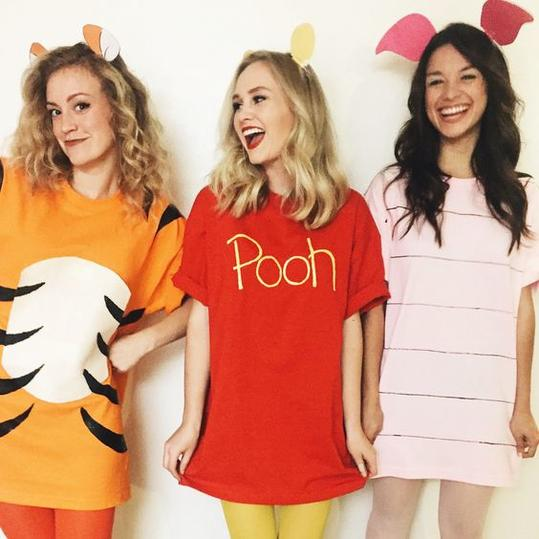 Winnie the Pooh and Friends  sc 1 st  Southern Living & Group Halloween Costume Ideas Perfect for Your Sorority Sisters ...