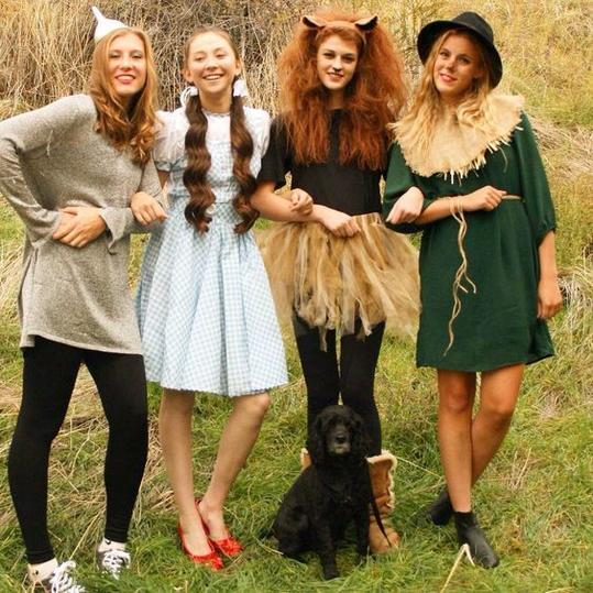 Trio Halloween Costume Ideas For Three Friends.Group Halloween Costume Ideas Perfect For Your Sorority Sisters