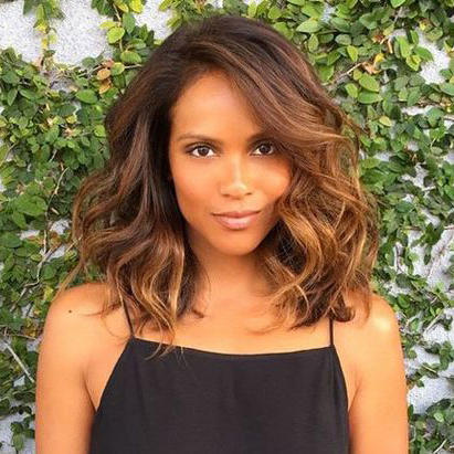 how to style curls on medium length hair medium length hairstyles we re loving right now southern 8936