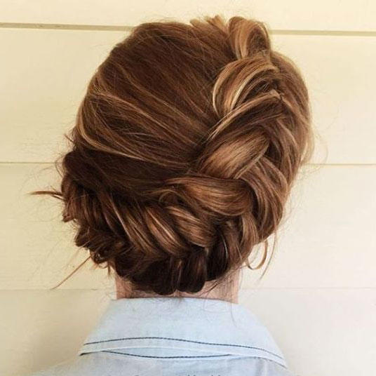 Dutch Braid Wraparound