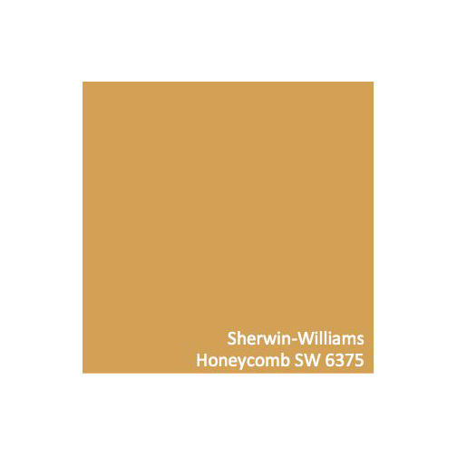 Honeycomb Paint Color by Sherwin Williams