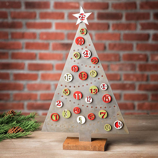 Magnetic Christmas Tree Advent Calendar