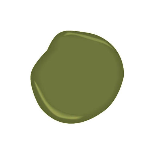 Timson Green Paint Color by Benjamin Moore