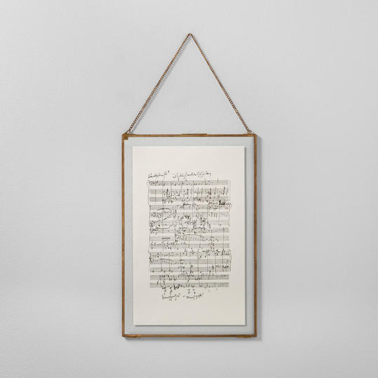 Music Notes Framed Wall Art from Hearth and Hand
