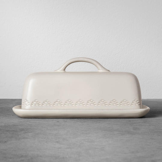 Stoneware Butter Dish from Hearth and Hand