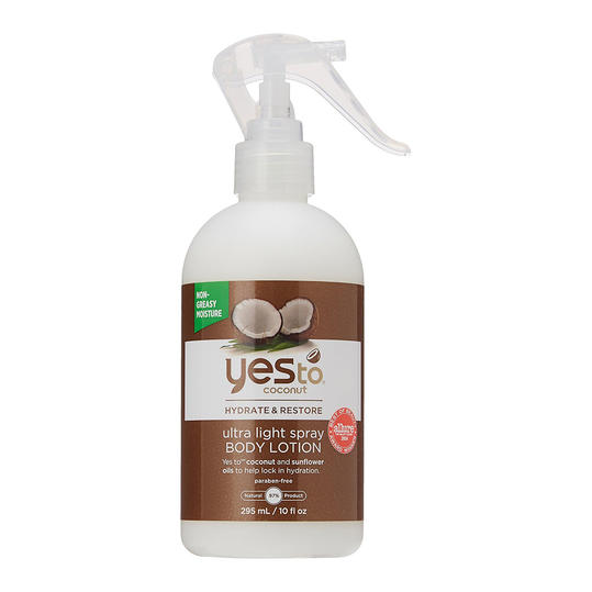Yes To Coconut Hydrate & Restore Ultra Light Spray Body Lotion