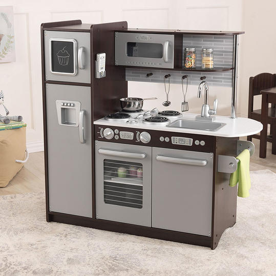 RX_1711_Best Battery-Free Toys on Amazon_KidKraft Uptown Espresso Kitchen