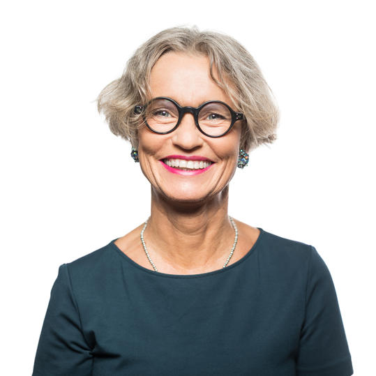 Woman with Gray Hair Short Bob