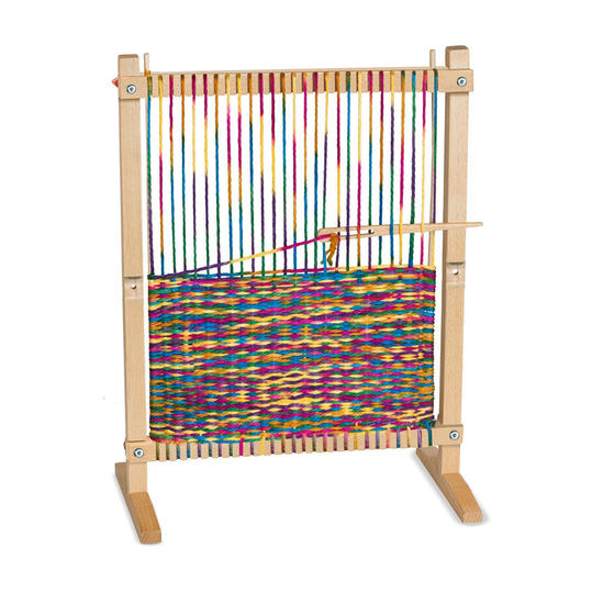 Melissa & Doug Wooden Weaving Loom