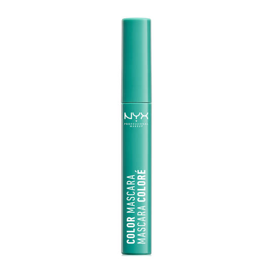RX_1712_Color Mascara_Nyx Cosmetics Color Mascara in Mint Julep